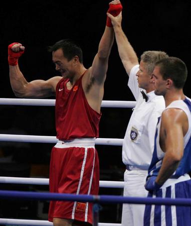 图文:拳击男子81公斤