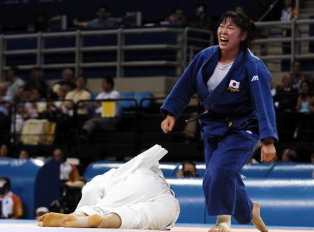 图文:柔道女子78公斤级