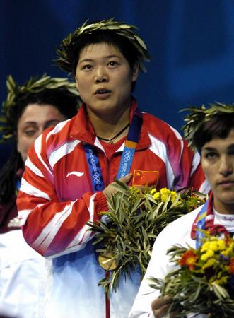 图文:女子69公斤级举重