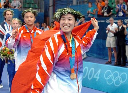 [奥运](4)五星红旗,我为你自豪~~8月19日,中国选手