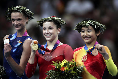 图文:体操女子全能