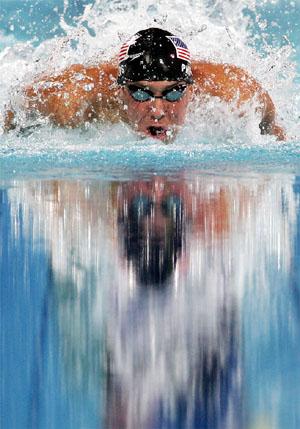 何必嘲笑菲尔普斯说大话 他就是泳池之王!(图)