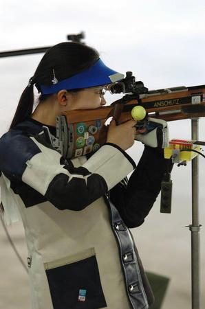 图文:女子50米步枪决赛