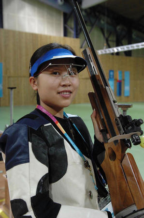 图文:射击女子50米步枪