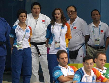 图文:女柔比赛