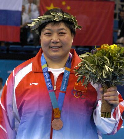 图文:柔道女子78公斤以上级