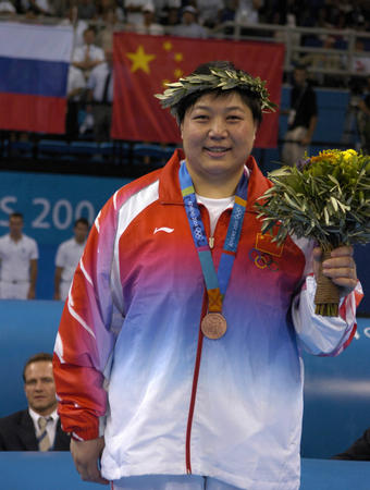 新华图文:柔道女子78公斤以上级