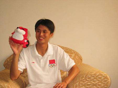 图文:搜狐专访中国射击队 这吉祥物真可爱