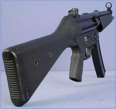 组图:hk公司mp5系列冲锋枪—mp5标准型