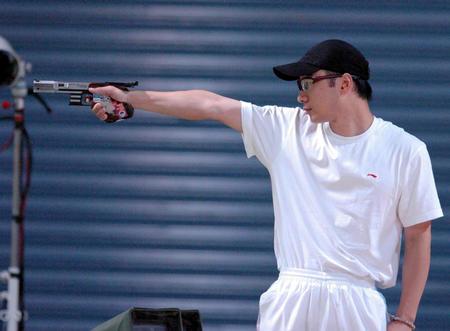 图文:男子25米手枪速射