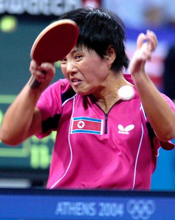 图文:乒乓球女单