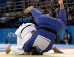 图文:柔道女子78公斤级 孙福明夺得铜牌(3)
