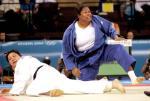 图文:女柔78公斤 孙福明在比赛中失败