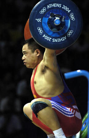 图文:举重男子85公斤级