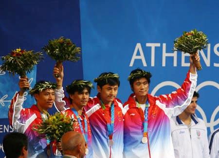 图文:直击雅典击剑赛场 北京奥运重头再来