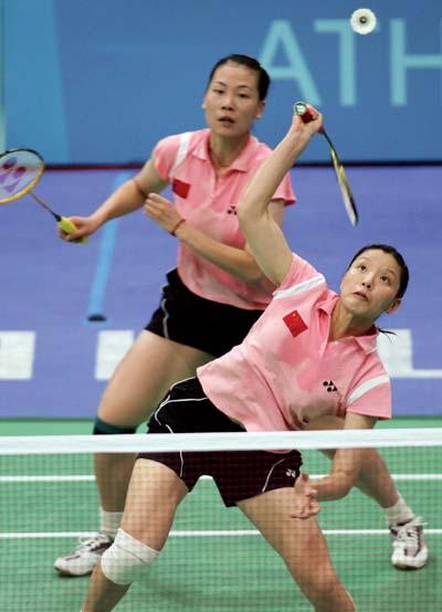 保二争三超额完成任务 中国羽毛球仍是NO.1(图)