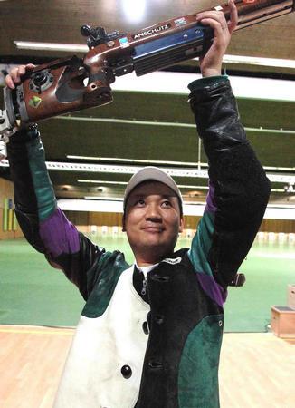 图文:男子50米步枪
