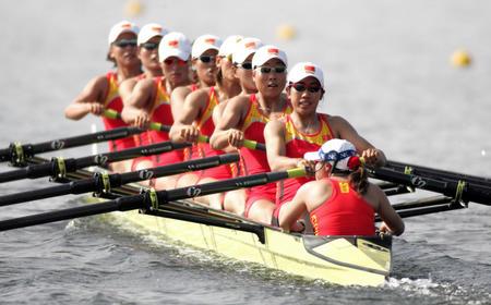 图文:赛艇女子八人单桨有舵手