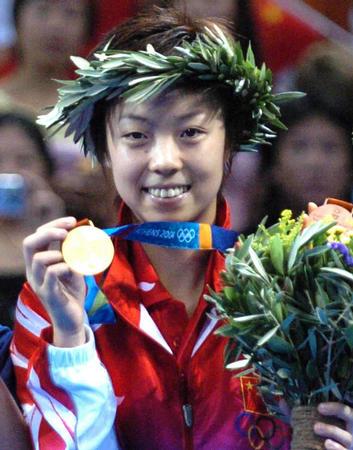 图文:乒乓球女子单打决赛