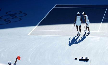 图文:网球女子双打决赛