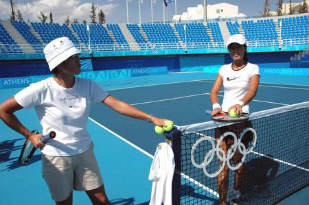 图文:网球女双