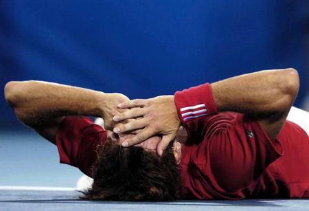 图文:网球男子单打决赛