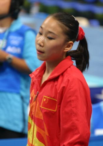 图文:奥运女子跳马决赛