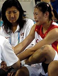 中国女篮负于美国队