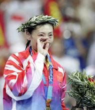 张宁夺得羽毛球女单冠军