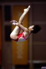 图文:跳水女子10米台 劳丽诗在比赛中