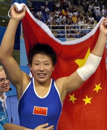 图文:女子摔跤72公斤级