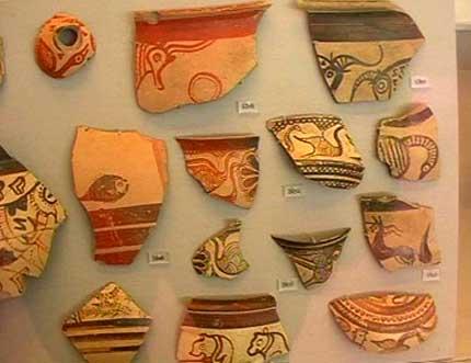 图文:时空连线--希腊国家考古博物馆展品之一