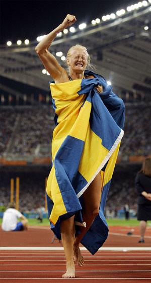 瑞典领跑田径(图)