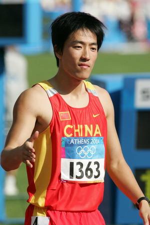 图文:男子110米栏 刘翔轻松进入第二轮