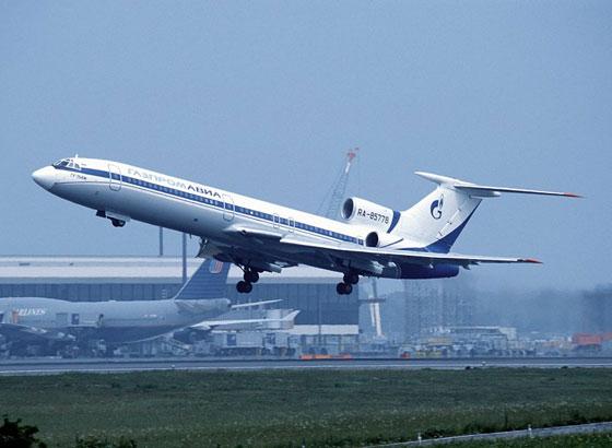 背景资料:图-154客机