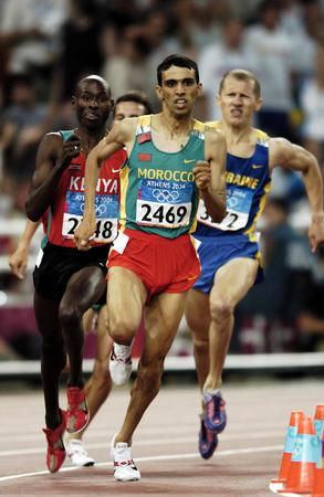图文:奥运会田径男子1500米