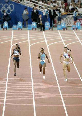 图文:奥运会田径女子400米