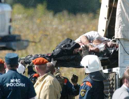 组图:俄罗斯全力调查飞机失事原因
