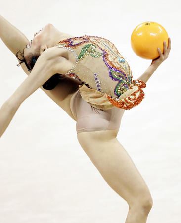 图文:艺术体操个人全能