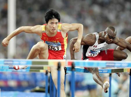 图文:男子110米栏