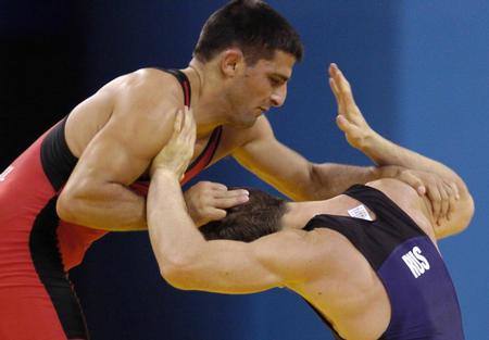 图文:摔跤男子古典式60公斤级