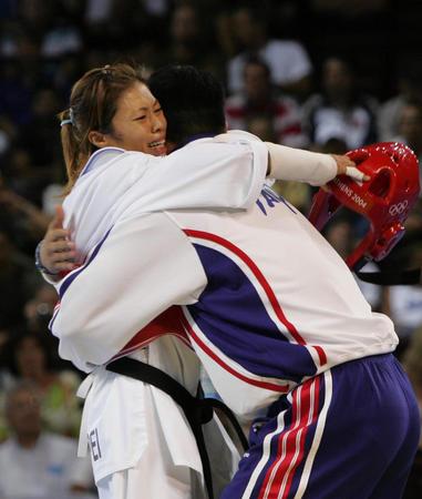 图文:女子跆拳道49公斤级