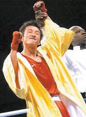 中国铁拳砸向金牌(图)