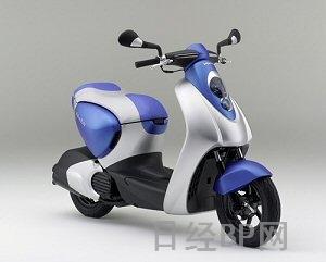 本田开发成功混合动力踏板摩托车(图)