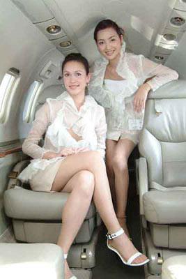 泰国王室专机空姐