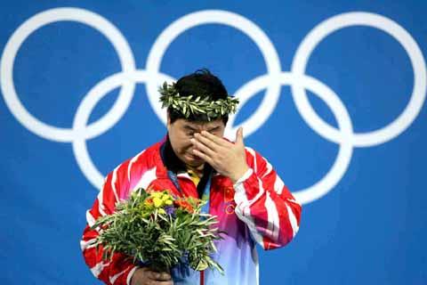 雅典奥运十大泪水