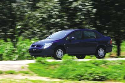 梅开二度--东风标致Peugeot 307
