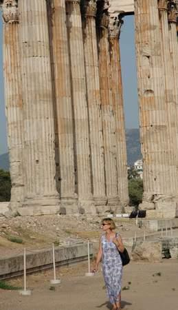 图文:宙斯神庙前