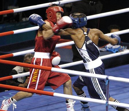 图文:拳击男子48公斤级