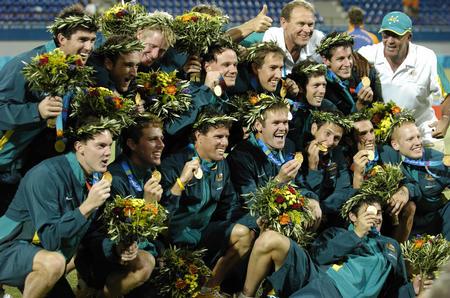图文:男曲澳大利亚夺冠